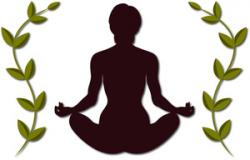 Meditation clipart relaxation