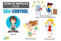 Meditation clipart self control