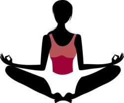 Meditation clipart stress management