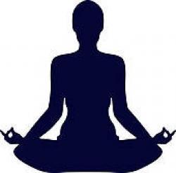 Shaow clipart yoga