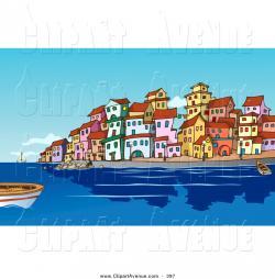 Seaside clipart harbour
