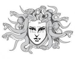 Medusa clipart face