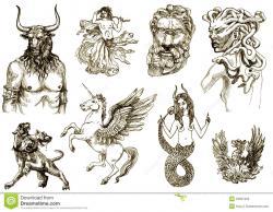 Medusa clipart mythological creature