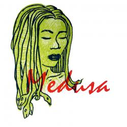 Medusa clipart when she was pretty