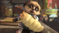 Meerkat clipart advert baby