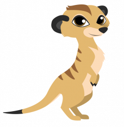 Mongoose clipart cute