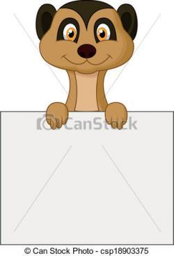 Meerkat clipart cute cartoon