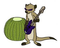 Meerkat clipart sick