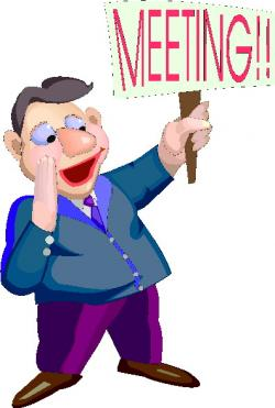 Notice clipart meeting announcement