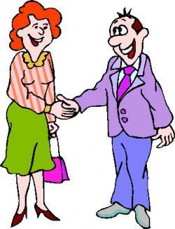 Meeting clipart boss clipart