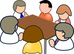 Meeting clipart church staff