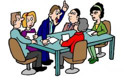 Meeting clipart debate