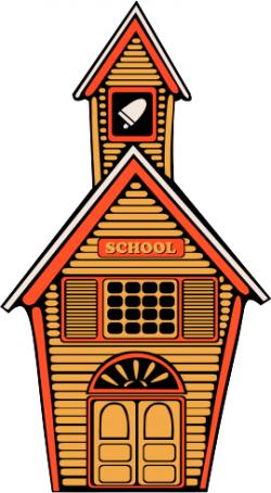 Hallway clipart american school