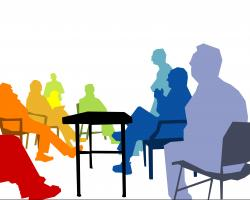 Panels clipart executive board