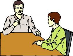 Meeting clipart face to face communication