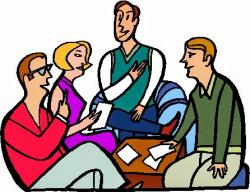 Panels clipart group counseling