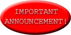 Message clipart important announcement