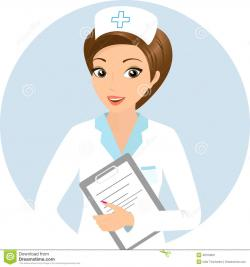 Nurse clipart staff nurse
