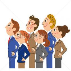 Meeting clipart office worker