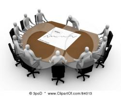 Meeting clipart project manager
