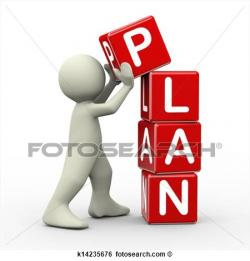 Business clipart work plan
