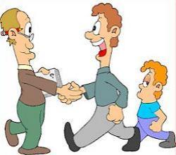 Structure clipart parent teacher
