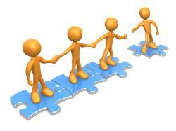 Society clipart teamwork