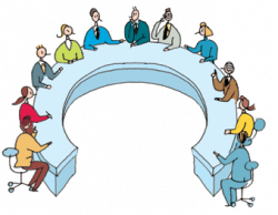 Meeting clipart transparent