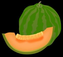 Melon clipart buah