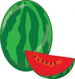 Melon clipart green fruit