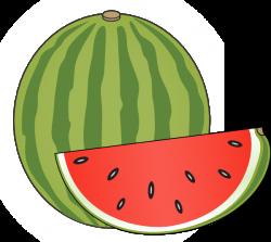 Melon clipart pakwan
