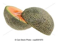Melon clipart rock