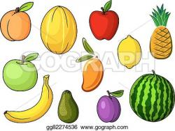 Peach clipart farm