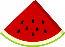 Triangle clipart watermelon