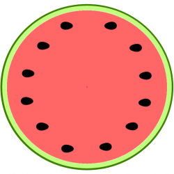 Umbrella clipart watermelon