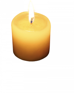 Melting Candle clipart art