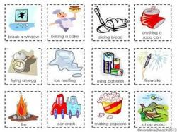 Sugar clipart physical change example