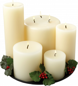 Melting Candle clipart