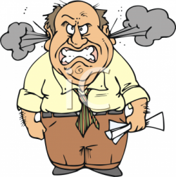 Anger clipart angry person