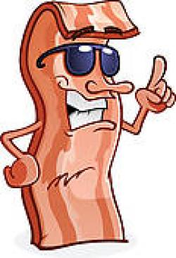 Men clipart bacon