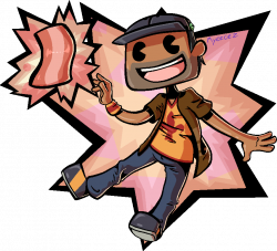 Bacon clipart man