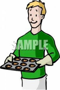 Men clipart baking