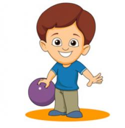 Bowling clipart kids game