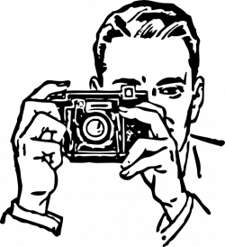 Dslr clipart camera man