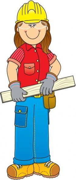 Women clipart carpenter