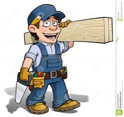 Cartoon clipart handyman
