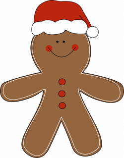 Gingerbread clipart cute