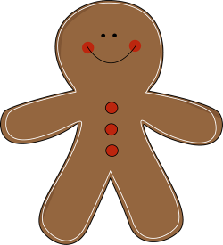 Gingerbread clipart gingerbread person