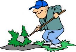Man clipart gardening