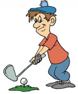 Men clipart golfer